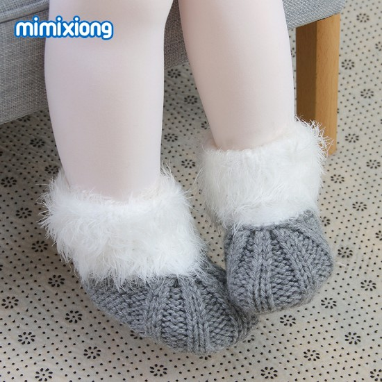 Mimixiong Baby Knitted Shoes 82W453