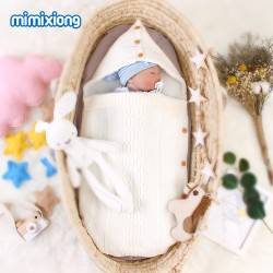 Mimixiong Baby Knitted Sleeping Bag 82W417