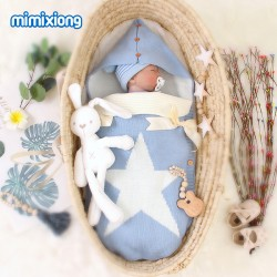 Mimixiong Baby Knitted Sleeping Bag 82W430