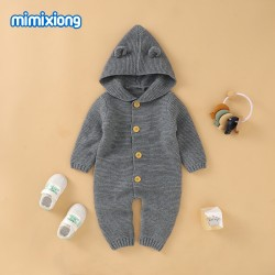 Mimixiong Baby Knitted Romper 82W469