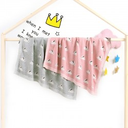 Mimixiong 100% Cotton Baby Knitted Blankets 82W519