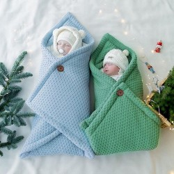 Mimixiong Baby Knitted Sleeping Bag 82W540
