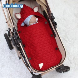 Mimixiong Baby Knitted Sleeping Bag 82W560