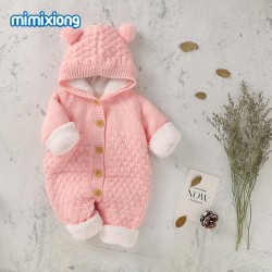 Mimixiong Baby Knitted Romper 82W591