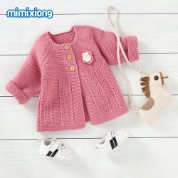 Mimixiong Baby Knitted Coat 82W716