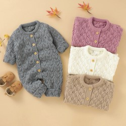 Mimixiong Baby Knitted Romper 82W735