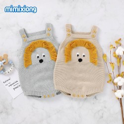 100% Cotton Baby Knitted Sleeveless Romper 82W818