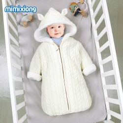 Mimixiong Baby Knitted Sleeping Bag 82W857