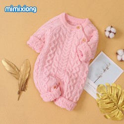 Mimixiong Baby Knitted Romper 82W603