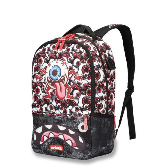 Big Eyes the backstreet style backpack