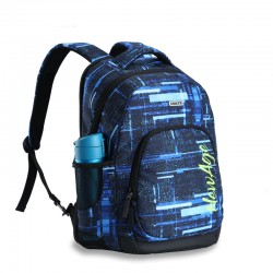 Denim look the classic backpack style