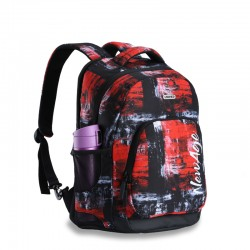 Brick red the classic backpack style