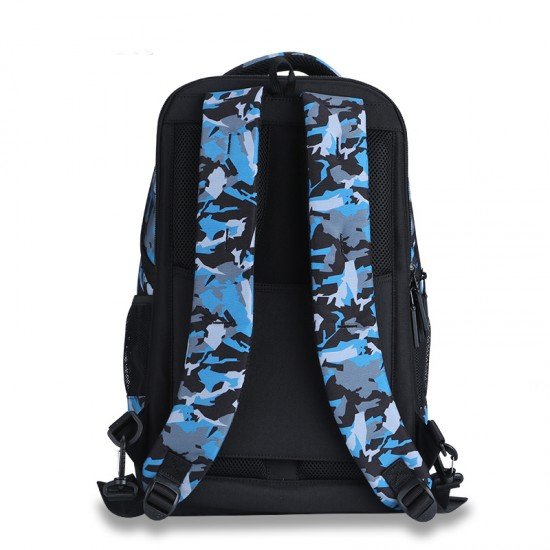 Blue look the classic backpack style