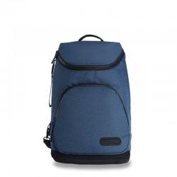 Dark blue business backpack
