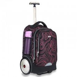Oriental dragon big wheel trolley bag