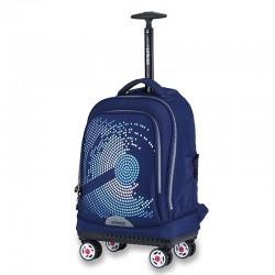 Chessboard universal wheel trolley bag