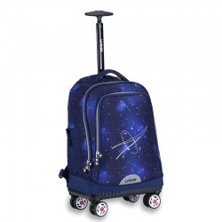 Starry sky universal wheel trolley bag